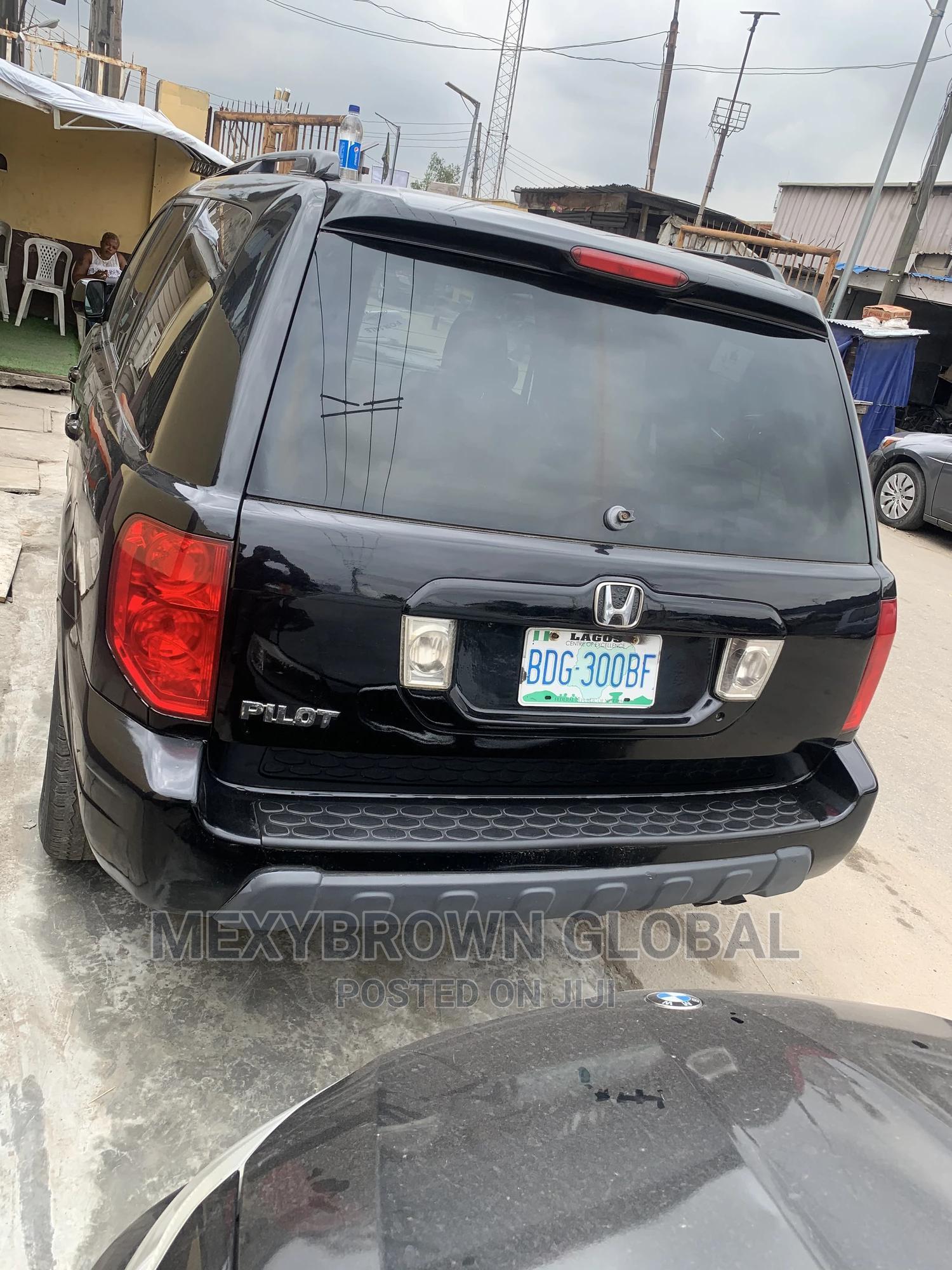 Honda Pilot 2003 Black | Cars for sale in Surulere, Lagos State, Nigeria