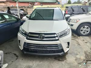 Toyota Highlander 2017 White | Cars for sale in Lagos State, Ogba