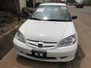 Honda Civic 2004 Sedan DX White   Cars for sale in Lagos State, Ikeja