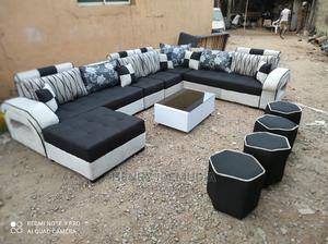 U Shap With Center Table | Furniture for sale in Lagos State, Ikeja