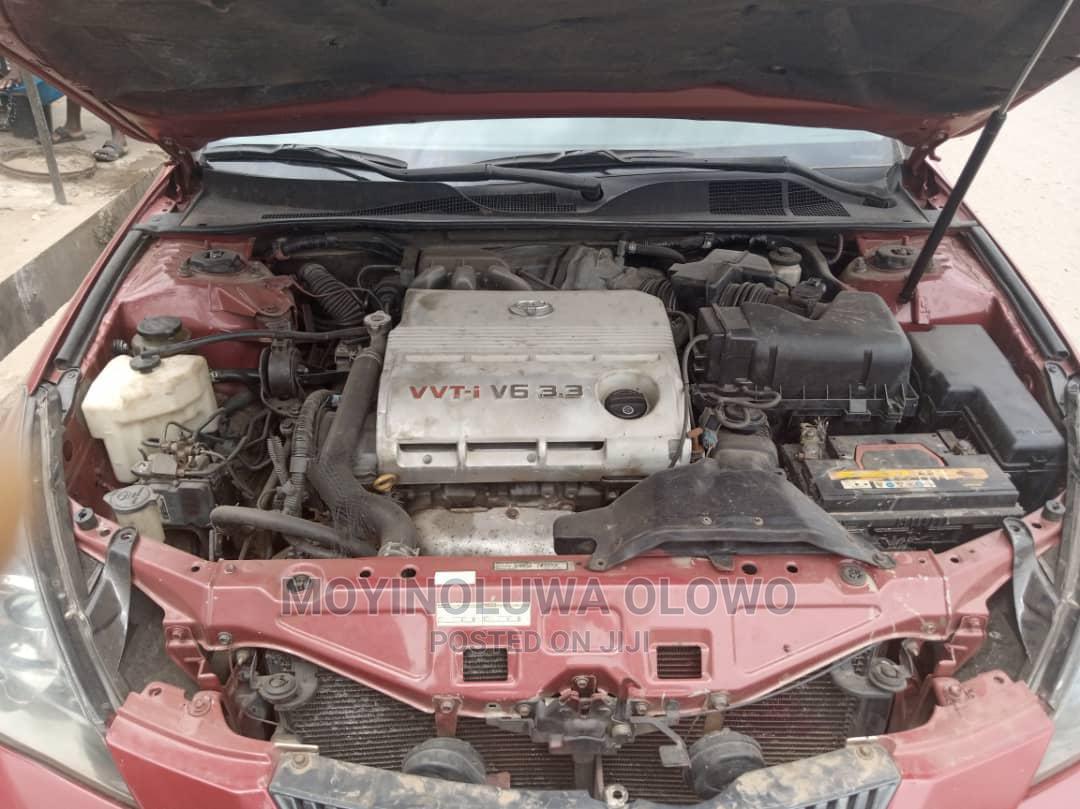 Archive: Toyota Solara 2008 Red