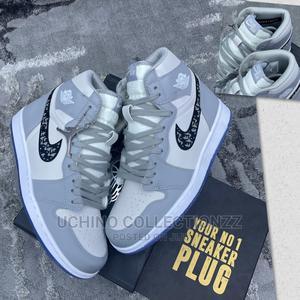 "Dior X Air Jordan 1 ""Grey"" | Shoes for sale in Lagos State, Lagos Island (Eko)"