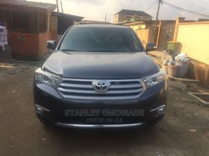 Toyota Highlander 2013 Gray   Cars for sale in Lagos State, Yaba