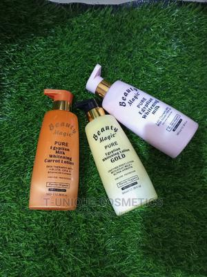 Beauty Magic Pure Egyptian Whitening Lotion   Skin Care for sale in Lagos State, Ikorodu