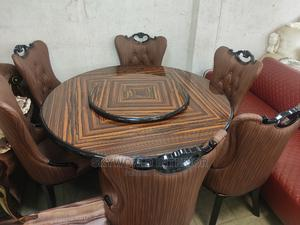 Marble Round Dinning Table | Furniture for sale in Lagos State, Ikeja