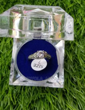 Stainless Steel Silver Engagement Ring | Wedding Wear & Accessories for sale in Lagos State, Ajah