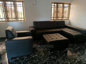 Modern L Shape With Single and Center Ottoman   Furniture for sale in Lagos State, Ogudu