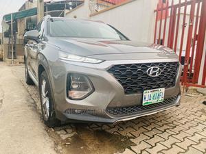 Hyundai Santa Fe 2019 Gray | Cars for sale in Lagos State, Magodo