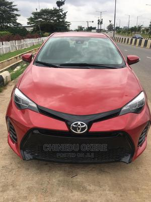 Toyota Corolla 2018 LE Eco (1.8L 4cyl 2A) Red | Cars for sale in Lagos State, Oshodi