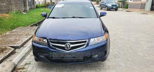 Acura TSX 2007 Automatic Blue   Cars for sale in Lagos State, Abule Egba