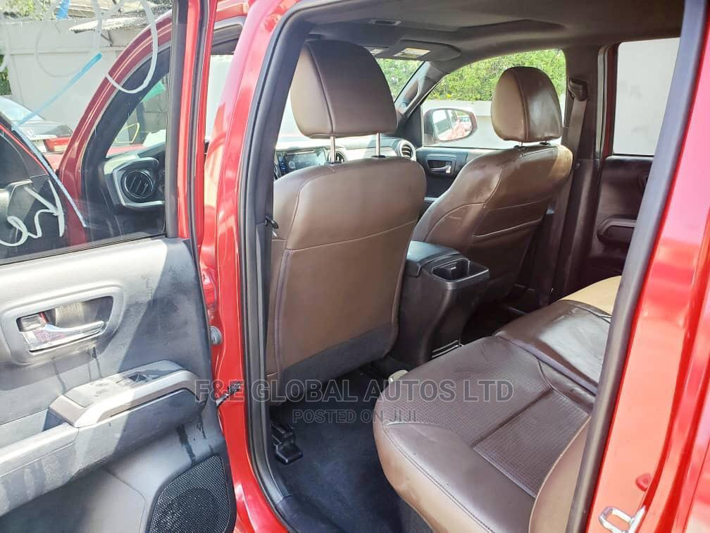 Toyota Tacoma 2016 4dr Double Cab Red   Cars for sale in Amuwo-Odofin, Lagos State, Nigeria