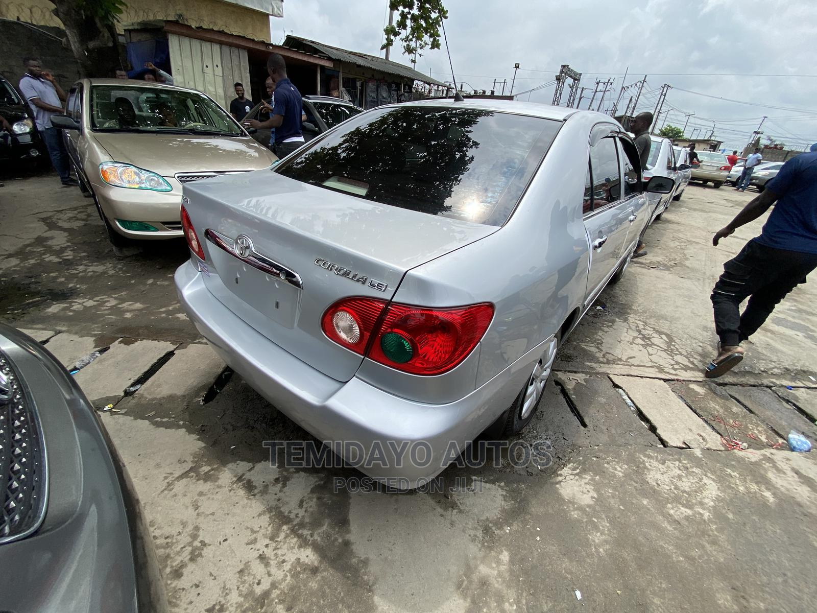 Toyota Corolla 2007 Silver   Cars for sale in Apapa, Lagos State, Nigeria