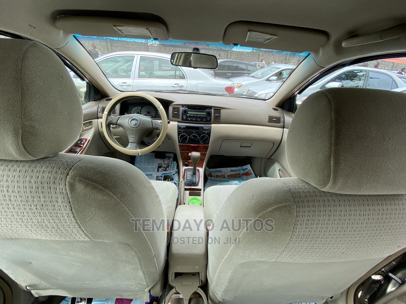 Toyota Corolla 2008 Gold | Cars for sale in Apapa, Lagos State, Nigeria