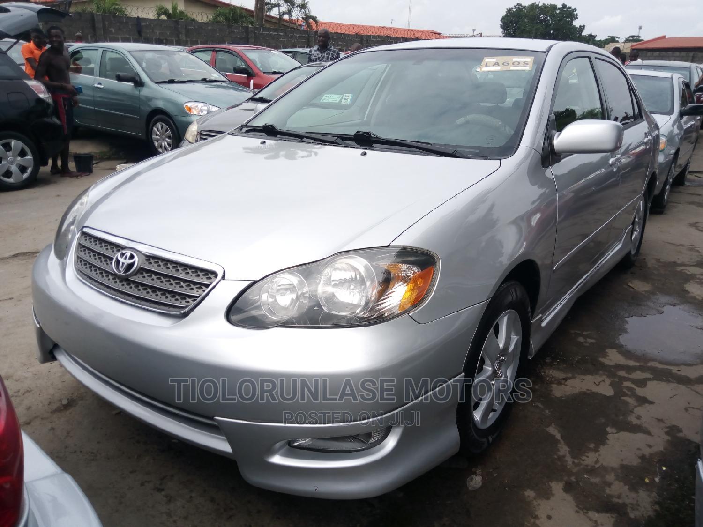 Toyota Corolla 2007 Silver