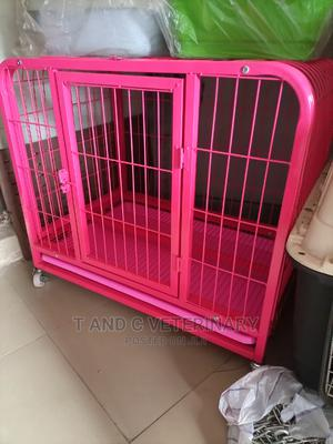Heavy Duty Metal Dog Pet Cage House | Pet's Accessories for sale in Lagos State, Agege