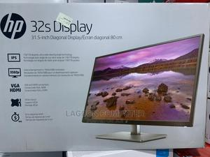HP 32s Display Monitor   Computer Monitors for sale in Lagos State, Ikeja