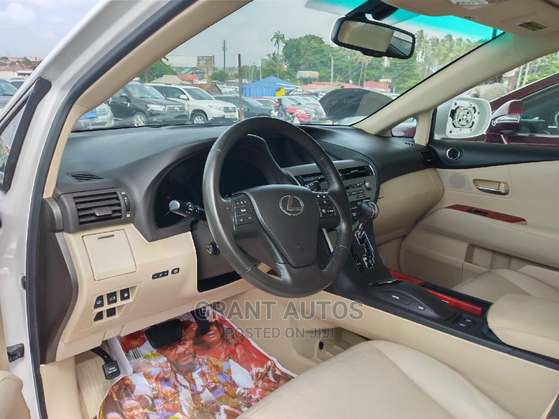 Lexus RX 2010 350 White   Cars for sale in Apapa, Lagos State, Nigeria