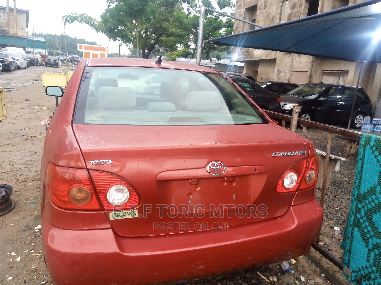 Toyota Corolla 2005 LE Red   Cars for sale in Garki 2, Abuja (FCT) State, Nigeria