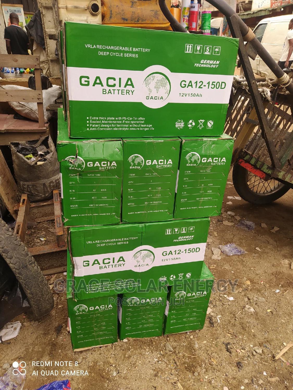 Gacia 150ah/12v Battery
