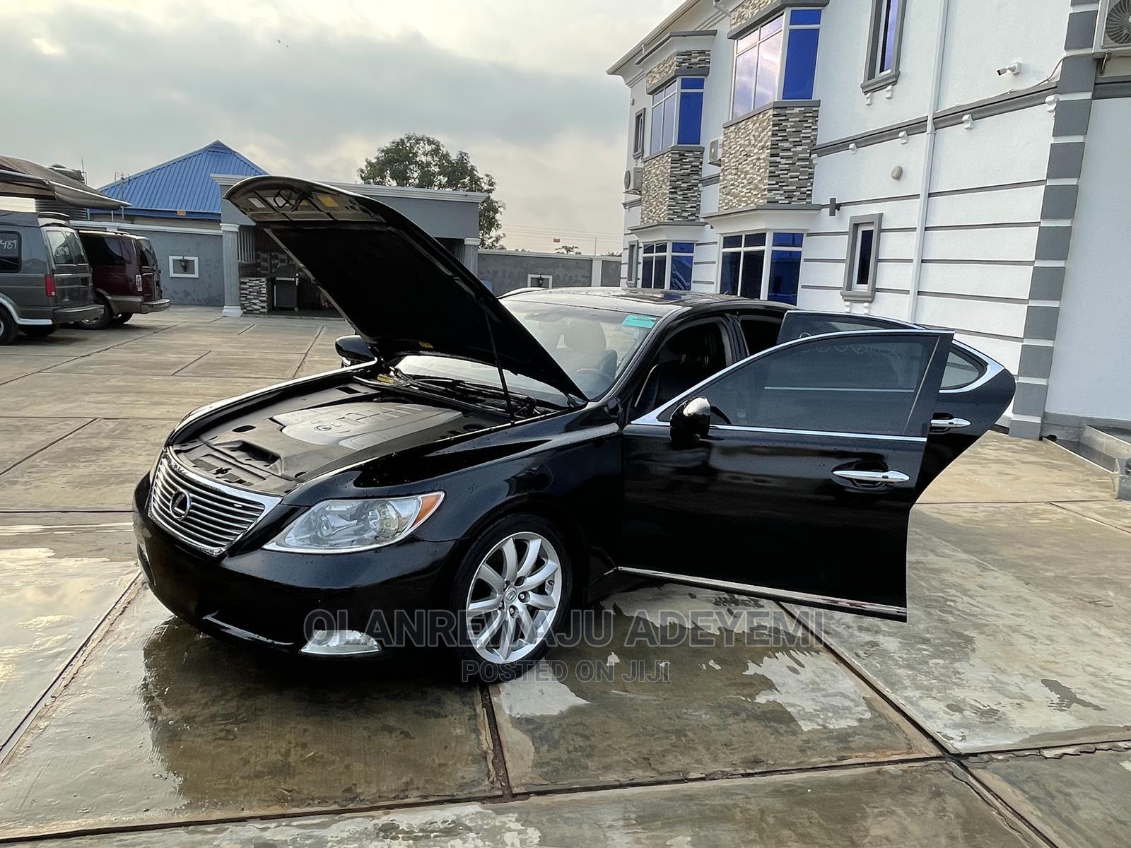 Lexus LS 2009 460 AWD Black | Cars for sale in Abule Egba, Lagos State, Nigeria