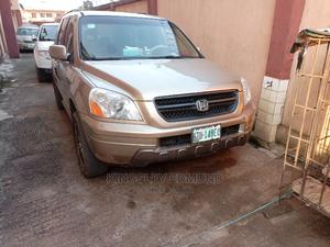 Honda Pilot 2005 EX 4x4 (3.5L 6cyl 5A) Gold | Cars for sale in Lagos State, Ikotun/Igando