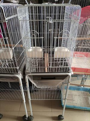 Standing Pet Bird Parrot Cage House | Pet's Accessories for sale in Lagos State, Agege