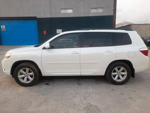 Toyota Highlander 2010 SE White   Cars for sale in Lagos State, Gbagada