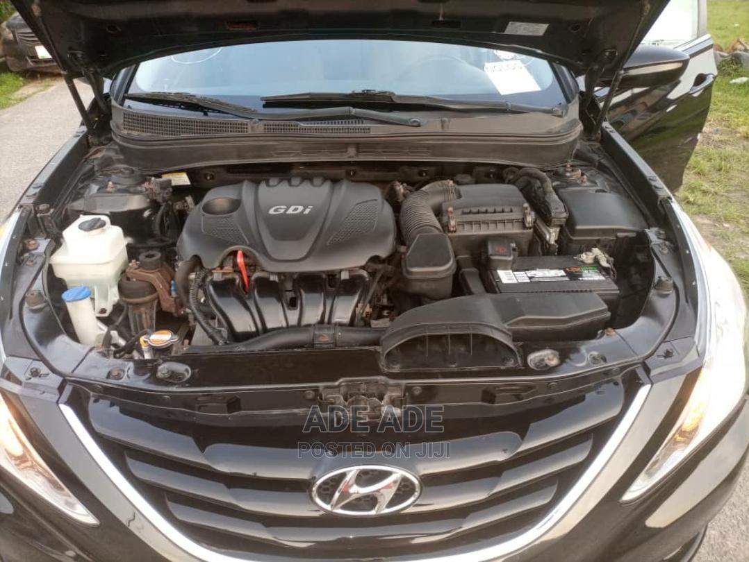 Hyundai Sonata 2010 Black | Cars for sale in Surulere, Lagos State, Nigeria