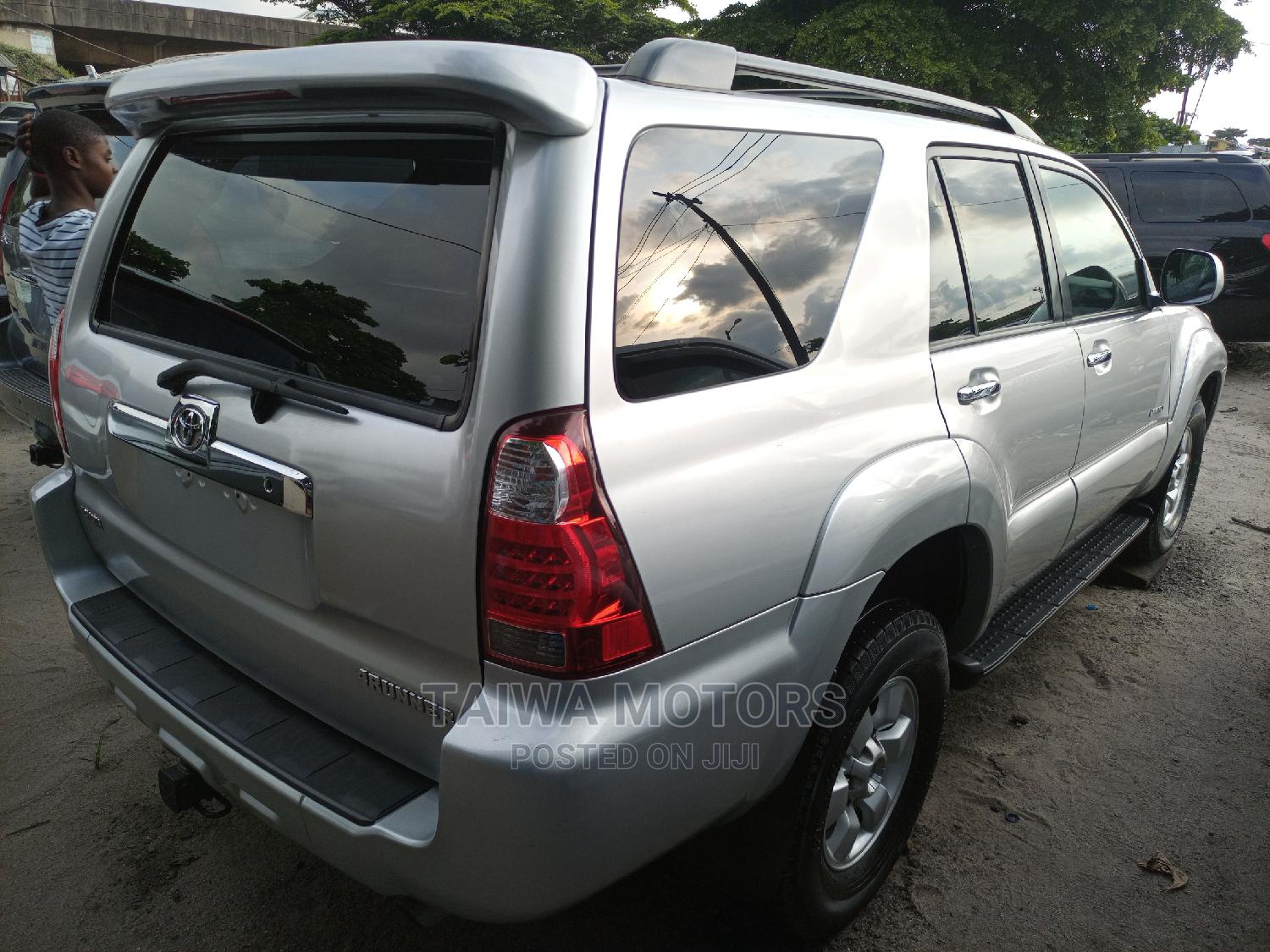 Toyota 4-Runner 2007 Limited 4x4 V6 Silver | Cars for sale in Apapa, Lagos State, Nigeria