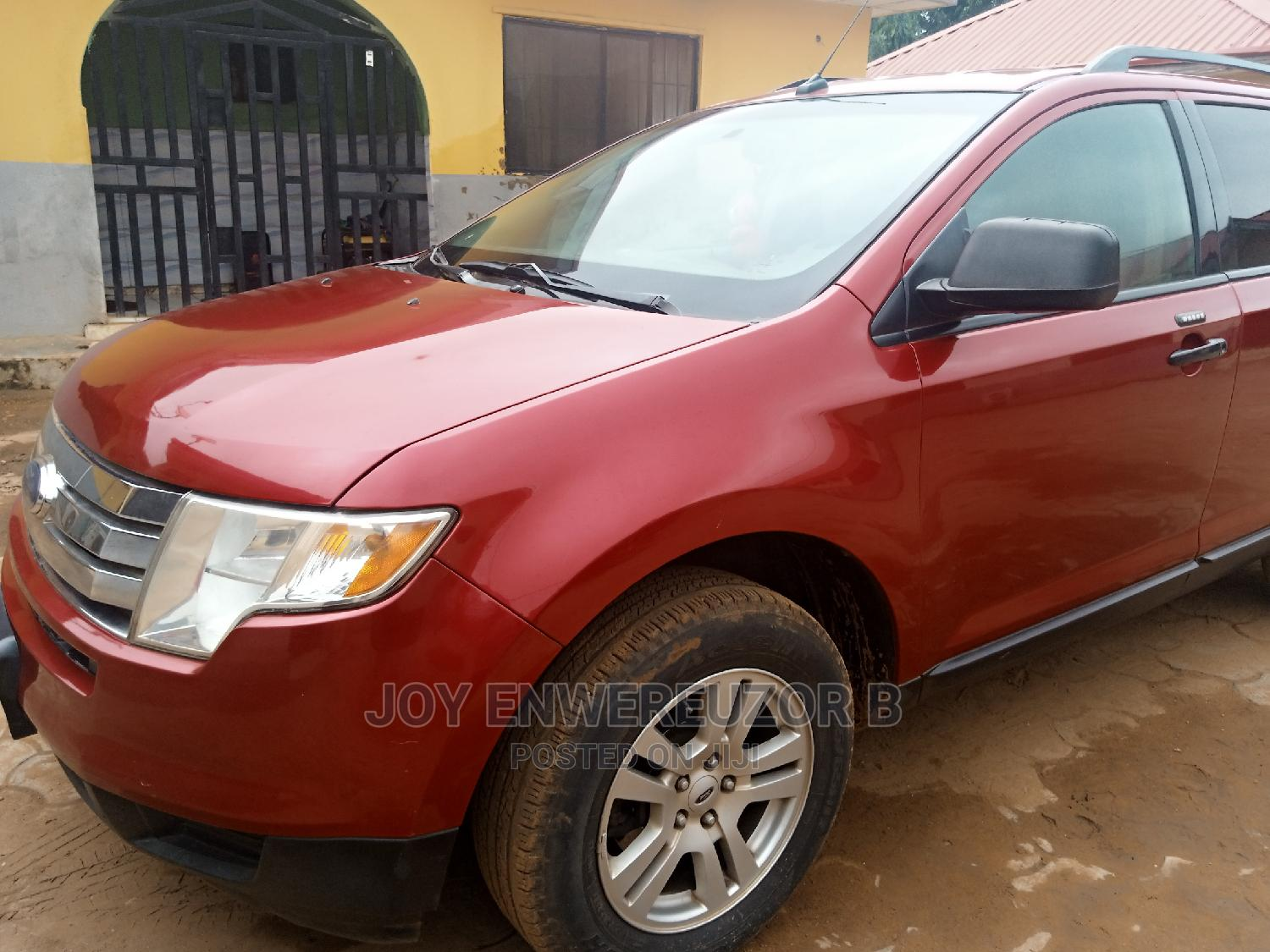 Ford Edge 2009 SE 4dr FWD (3.5L 6cyl 6A) Red