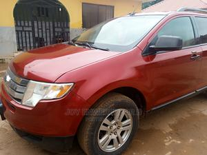 Ford Edge 2009 SE 4dr FWD (3.5L 6cyl 6A) Red | Cars for sale in Abuja (FCT) State, Karu