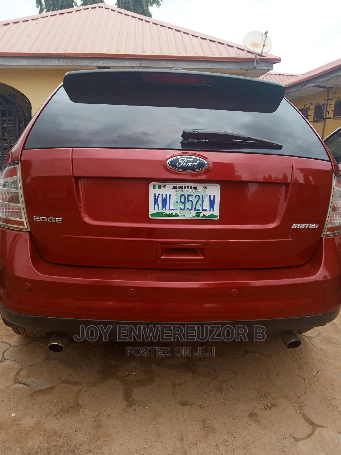 Ford Edge 2009 SE 4dr FWD (3.5L 6cyl 6A) Red | Cars for sale in Karu, Abuja (FCT) State, Nigeria