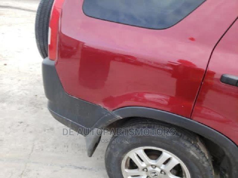 Archive: Honda CR-V 2003 Red