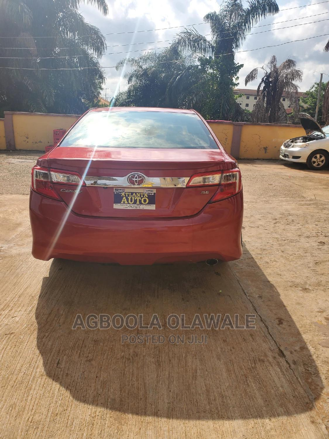 Archive: Toyota Camry 2013 Red