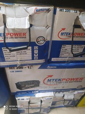 Microtek 200A 12V Battery | Solar Energy for sale in Lagos State, Ojo
