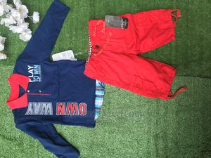2PC Baby Boys Kids Toddler +Short Clothes Outfit Set | Children's Clothing for sale in Oyo State, Ibadan