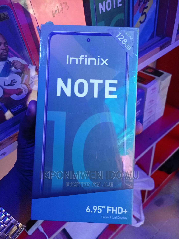 New Infinix Note 10 128 GB Orange