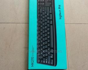 Logitech Wireless Keyboard and Mouse M270   Computer Accessories  for sale in Lagos State, Ikeja