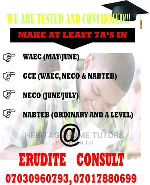 Erudite Home Tutors (Maths and Science Experts)   Classes & Courses for sale in Lagos State, Yaba