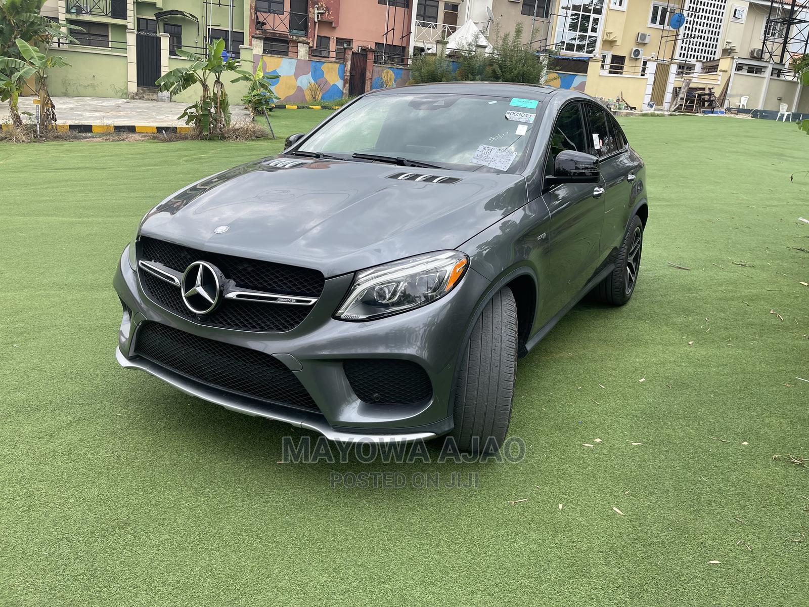 Mercedes-Benz GLE-Class 2017 Gray