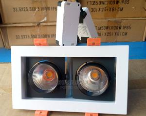 Spot Light Downlight 2*5w 3000k Warm White Ac85+265v | Stage Lighting & Effects for sale in Lagos State, Surulere