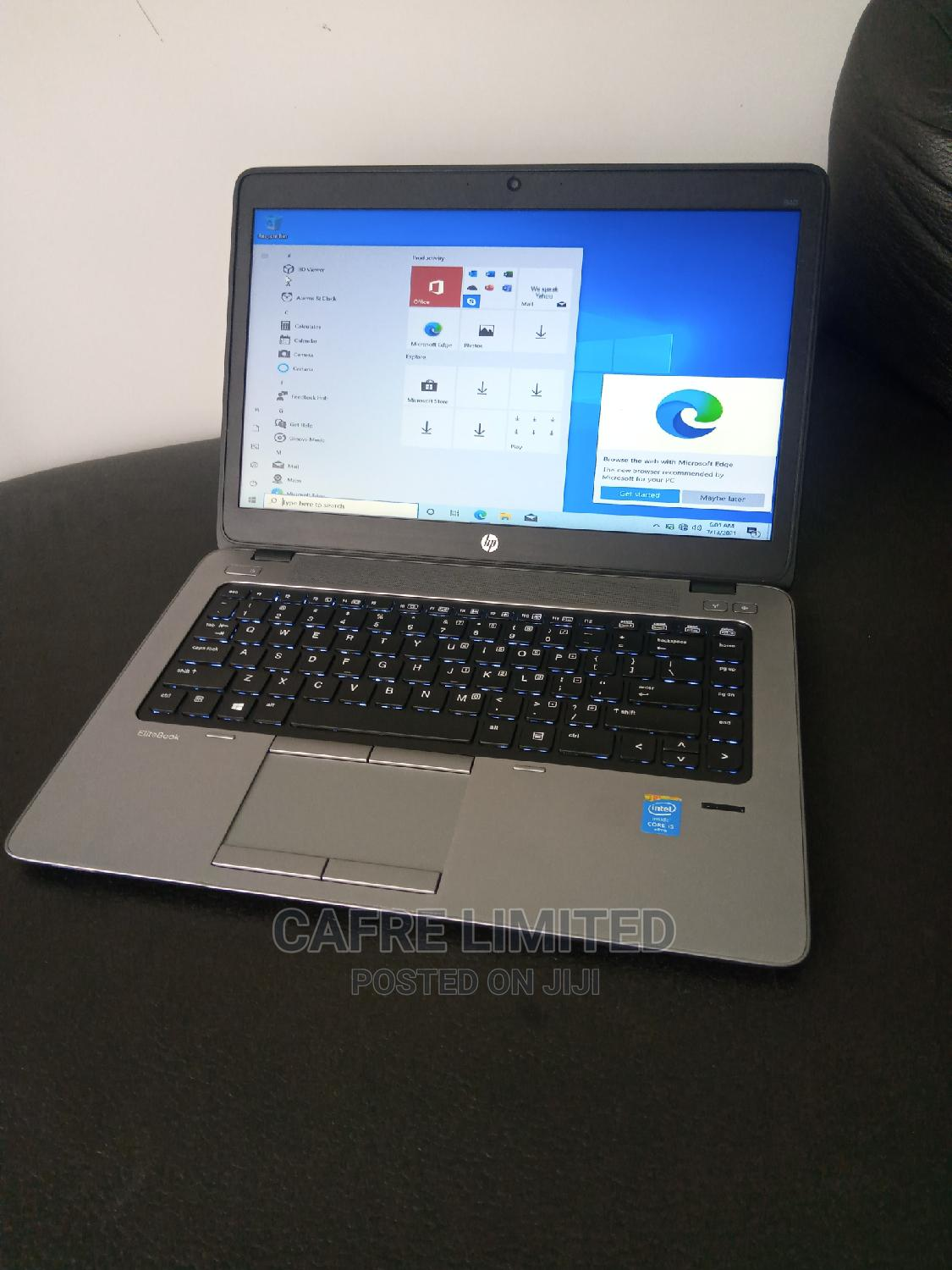Laptop HP EliteBook 840 8GB Intel Core I5 HDD 500GB   Laptops & Computers for sale in Mushin, Lagos State, Nigeria