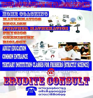 Home Tutors (Basic 1-6,Phy,Chm,Bio,Maths,Eng,Etc)   Classes & Courses for sale in Lagos State, Ojodu