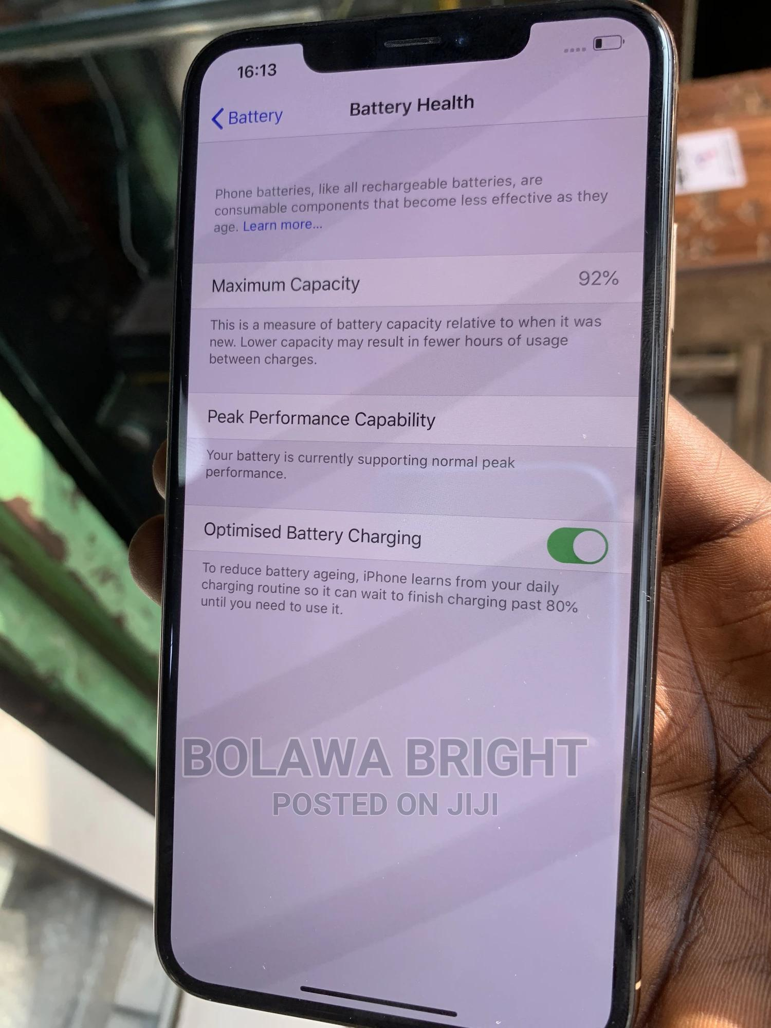 Apple iPhone XS Max 64 GB Gold | Mobile Phones for sale in Ikeja, Lagos State, Nigeria