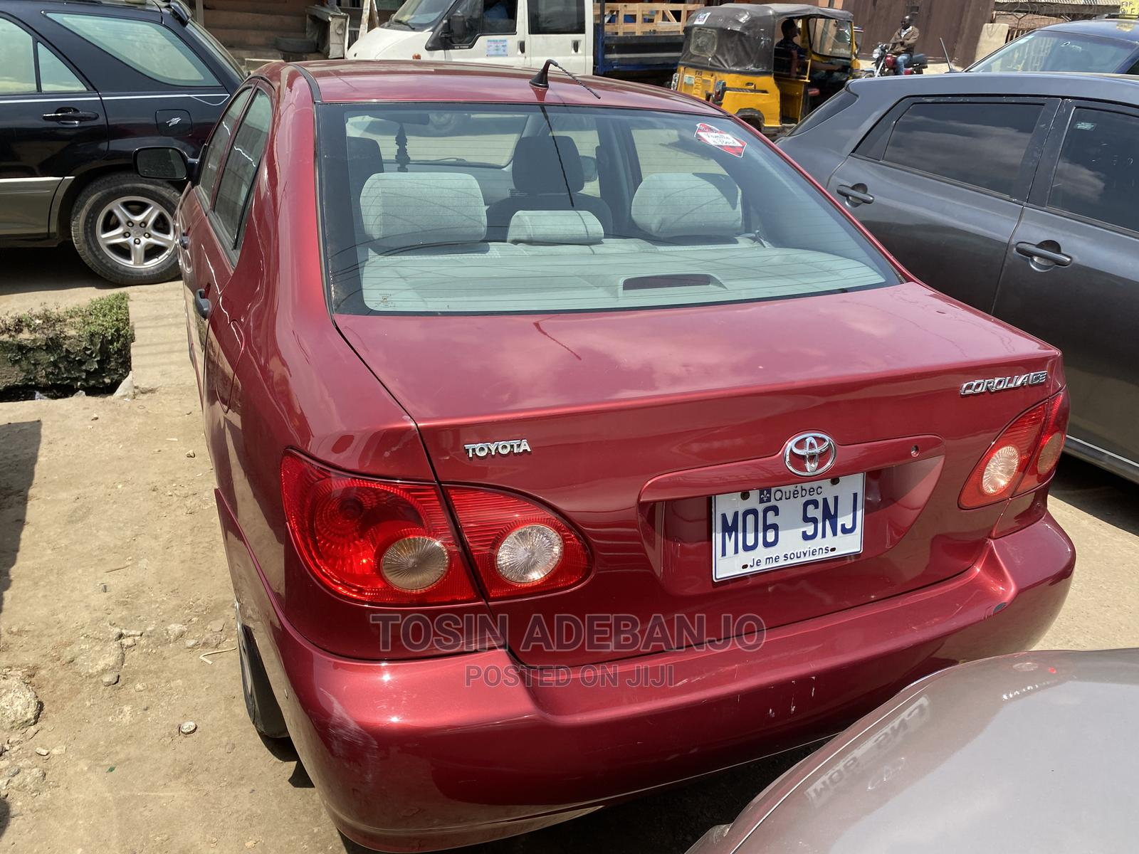 Toyota Corolla 2005 LE Red | Cars for sale in Mushin, Lagos State, Nigeria