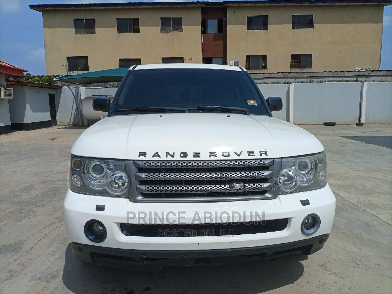 Land Rover Range Rover Sport 2009 HSE 4x4 (4.4L 8cyl 6A) White
