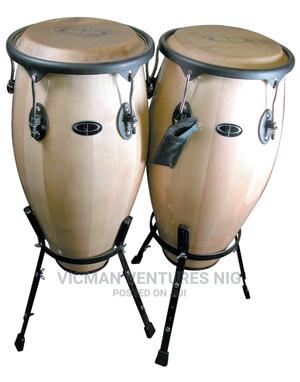 Twin Conga Drum Set | Musical Instruments & Gear for sale in Lagos State, Ojo