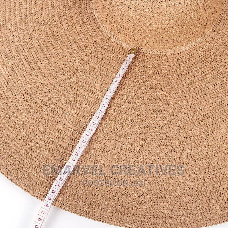 New Oversized Beach Hats 25CM Wide Brim Holiday Cap