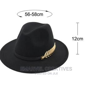 Fedoras Big Brim Hats for Women British Style Vintage Church | Clothing Accessories for sale in Lagos State, Surulere