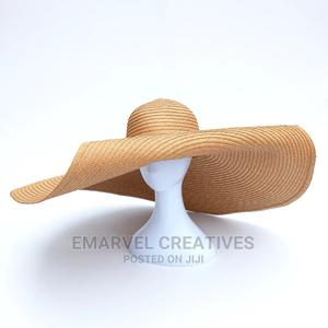 Large Brim Summer Sun Beach Hats | Clothing Accessories for sale in Lagos State, Surulere